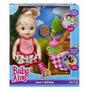 Boneca Baby Alive Lanchinho Loira A7194 Hasbro+brinde