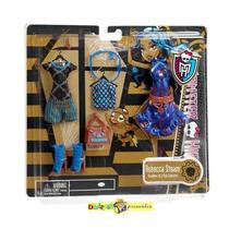 Monster High Roupa E Acessorios Robecca Original Mattel 2012