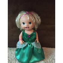Roupa Baby Alive Princesa Ariel (2 Modelos Humana Ou Sereia)