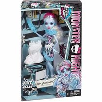 Promoção Boneca Monster High Abbey Bominable Aula Artes