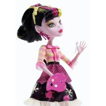Boneca Draculaura Monster High Aula De Artes-original Mattel