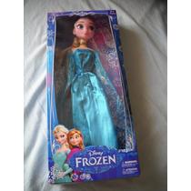 Frozen Elsa E Anna Disney 30cm Importada Com Selo Inmetro!!!
