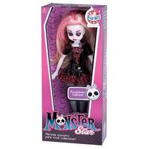 Boneca Monster Star Dark Sid Nyl Lançamento