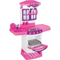 Cozinha Infantil Mágica Eletrônica 8011 Magic Toys Com Sons