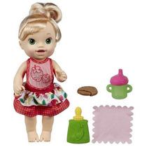 Boneca Baby Alive Meu Lanchinho Loira Original Da Hasbro