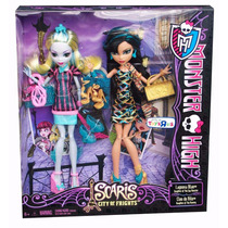 Monster High Saris - Lagoona Blue E Cleo De Nile