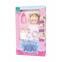 Boneca C/ Mecanismo Mini Baby Faz Xixi 35cm. Super Toys R217