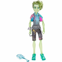 Kit Monster High - Porter Geiss + Deuce Olhar Assustador