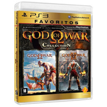 Kit God Of Wars 02 Games Ps3 + Box Livro A Historia Oficial