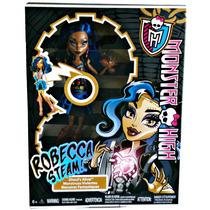 Boneca Monster High - Robecca Steam Roboterror- Frete Grátis