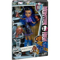 Boneca Monster High Aula De Arte Robecca Menina Mattel