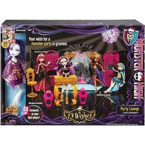 Boneca Monster High 13 Wishes Festa Quarto Mattel