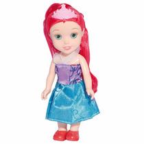 Mini Boneca Princesinha Ariel 16cm 1100 - Baby Brink