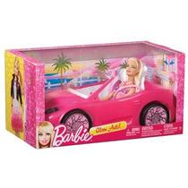 Barbie Com Carro Conversível - Mattel