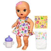 Baby Alive Hora Do Xixi Morena Hasbro
