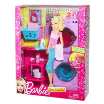 Móveis Da Barbie Lavadeira Maquina Lavar