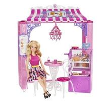 Barbie Padaria De Malibu Ave Bakery C/ Acessórios Importado
