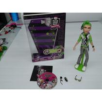 Monster High, Deuce Gorgon - Completo C/ Dvd