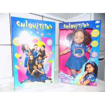 Boneca Chiquititas Tati Musical Baby Brink
