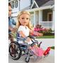 Boneca Journey Girls, Cadeira De Roda Infantil + Acessorios