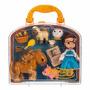 Disney Store Mini Animators Princesa Bela E A Fera No Brasil