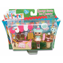 Kit Boneca Mini Lalaloopsy Sorveteria Playset Ice Cream