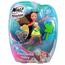 Boneca Fada Winx Club - Enchantix Fairy (stella - Ref: 1965)