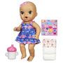 Boneca Baby Alive Hora Do Xixi Morena Original Da Hasbro