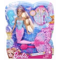 Boneca Barbie Sereia Cores Mágicas Mattel - Importado