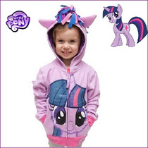 My Little Pony Blusa/casaco/moletom/twilight Sparkle Prince