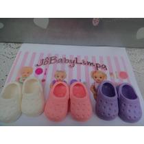 Sapato 3 P Boneca Crocs Baby Live -adora Doll -little Mommy
