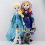 Kit 4 Bonecos Do Filme Frozen De Pelucia Musical