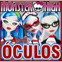 Óculos P/ Boneca Monster High - Modelo Ghoulia Novo