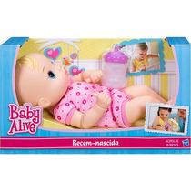 Baby Alive Recém Nascida - Hasbro