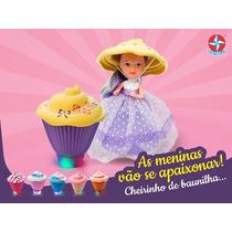 Cupcake Surpresa Com Luz - Lançamento Estrela !!!