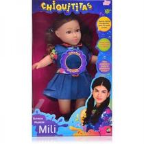 Boneca Músical Chiquitittas Mili 45cm