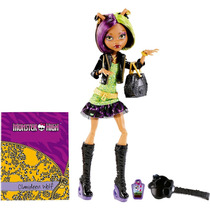 Boneca Clawdeen Wolf Mattel Monster High Foto Do Terror