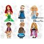 Disney Store Bonecas Animators 100% Original No Brasil