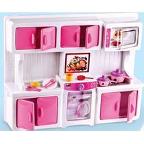 Kit Mini Cozinha Infantil Com Acessórios / Fogaozinho