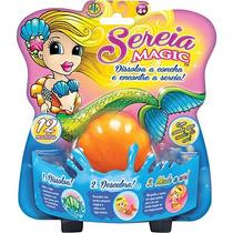 Concha Sereia Magic Com Cauda Que Muda De Cor !!!