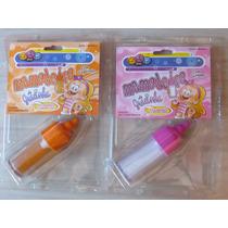 Suco E Leite Kit Com 2 Unidades Mamadeiras Para Boneca
