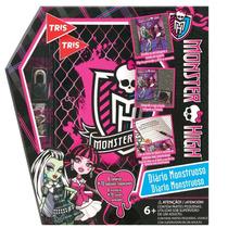 Kit Tris Criativo Monster High Diário Monstruoso 673165