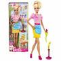 Boneca Barbie Coleção Quero Ser Florista - Original Mattel