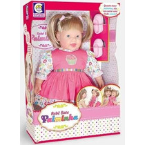 Boneca Bebê Bate Palminha - Cotiplas