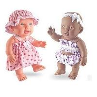 Boneca Bebê Capriccio Collezione Negra E Branca Brinquedos