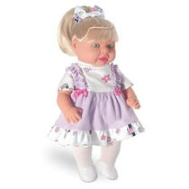 Boneca Que Fala - Marcele 20 Frases - Milk Brinquedos
