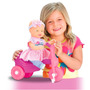 Boneca Sapekinha No Triciclo - Milk Brinquedos