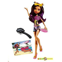 Monster High Clawdeen Wolf Gloom Beach Relançada 2015