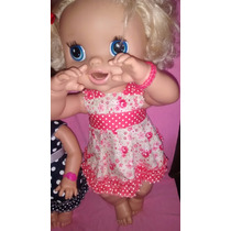 Kit( 9pçs)roupa E Sandalha Baby Alive 65r$