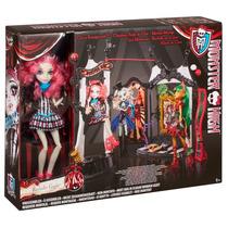 Boneca Monster High Rochelle Goyle Com Circus Scaregrounds